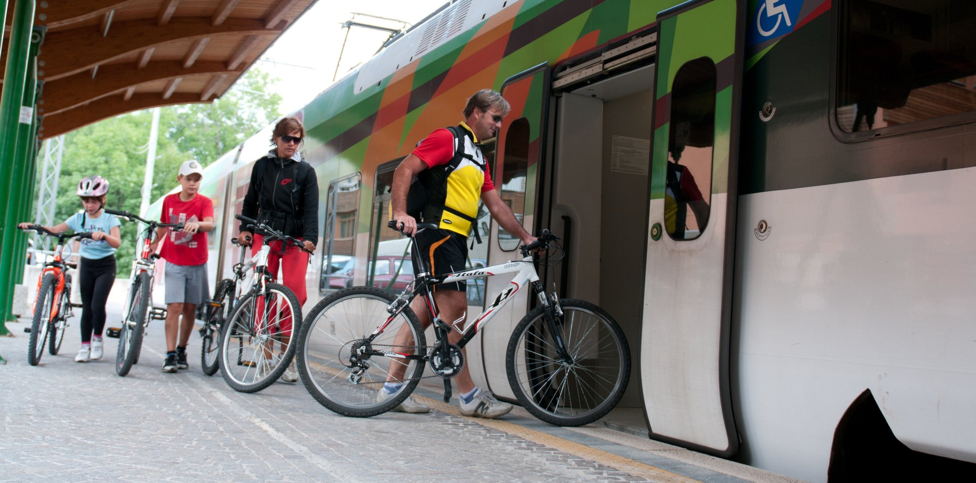 Bike Train Val di Sole | © Archivio APT Val di Sole - Ph Luca Brentari