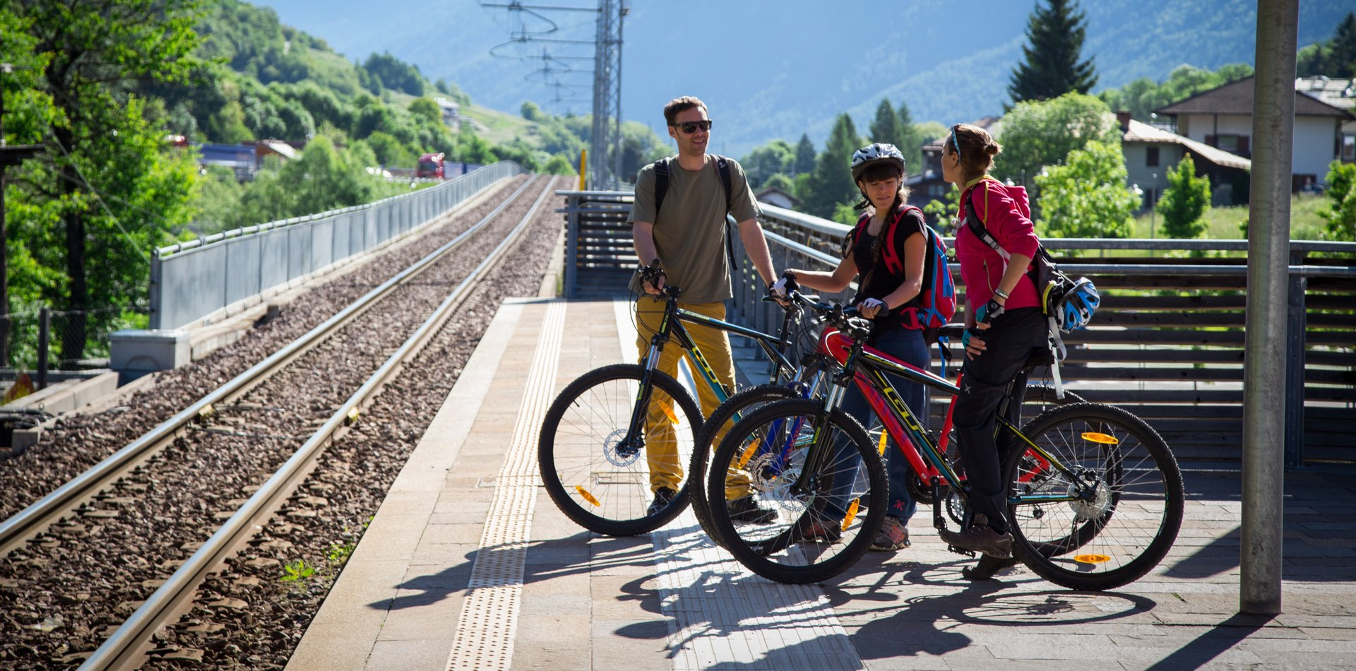 Bike Train Val di Sole | © Archivio APT Val di Sole - Ph Pillow Lab
