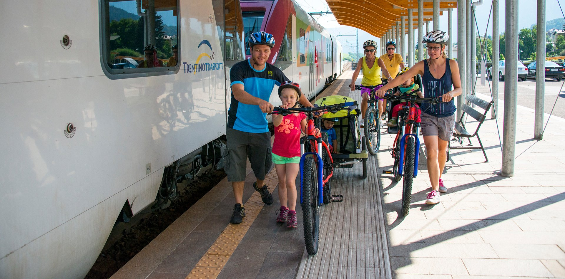 Bike Train Val di Sole | © Archivio APT Val di Sole - Ph Rotwild